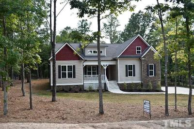 Zebulon Single Family Home For Sale: 15 W Chaucer Court