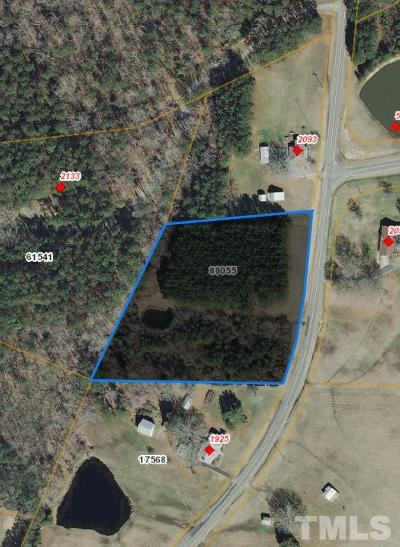 Apex Residential Lots & Land For Sale: 2093-A Farrington Road