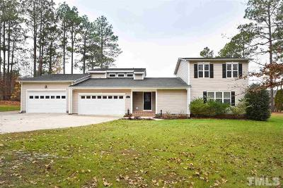 Harnett County Single Family Home Pending: 342 Lakeside Lane