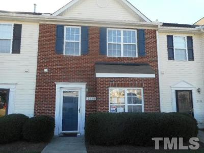Wake Forest Townhouse Pending: 2829 Gross Avenue