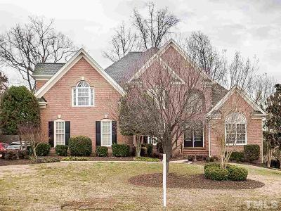 Morrisville Single Family Home Contingent: 109 Briery Branch Court