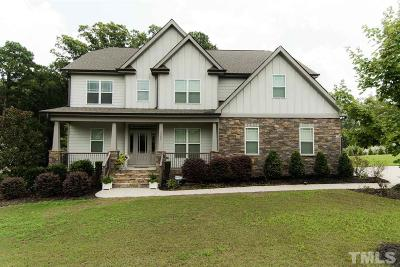 Fuquay Varina Single Family Home Contingent: 3509 Wiltree Drive