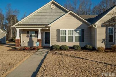 Johnston County Townhouse Contingent: 585 Winding Wood Drive