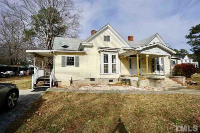 Franklinton Single Family Home For Sale: 411 E Mason Street