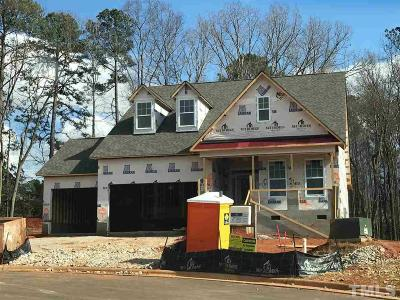 Raleigh Single Family Home Pending: 408 Saddletop Court