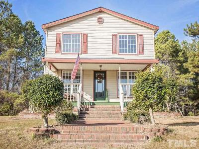 Lee County Single Family Home For Sale: 214 Peele Road