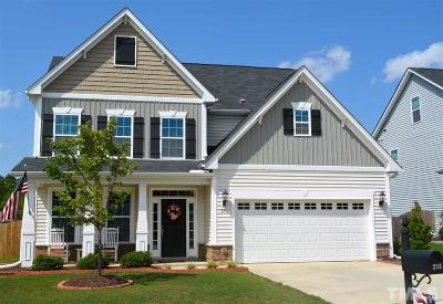 Holly Springs Single Family Home Contingent: 256 Sweet Violet Drive
