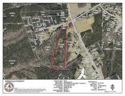 Granville County Residential Lots & Land For Sale: 2589 Nc 96 Highway