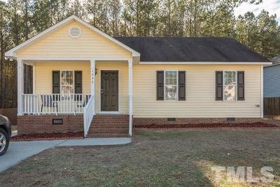 Knightdale Single Family Home Contingent: 1036 Mailwood Drive