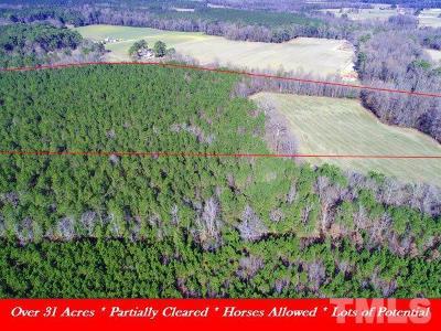 Johnston County Residential Lots & Land For Sale: Crocker Road