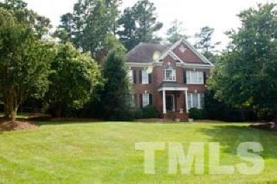 Raleigh Single Family Home For Sale: 1304 Coolmore Drive