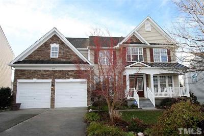 Cary Single Family Home Contingent: 507 Siltstone Place
