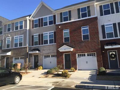 Cary Townhouse For Sale: 421 Berry Chase Way