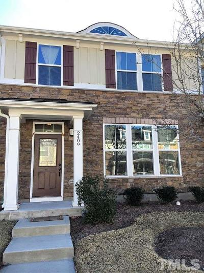 Morrisville Townhouse Contingent: 2409 Historic Circle