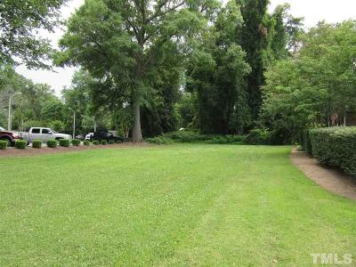 Zebulon Residential Lots & Land For Sale: 811 N Arendell Avenue