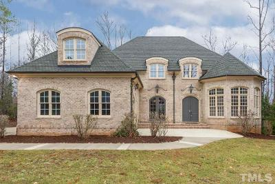Wake Forest Single Family Home Contingent: 1125 Lake Valley Drive