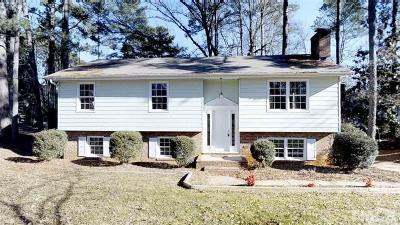 Cary Single Family Home Contingent: 810 Palmetto Drive
