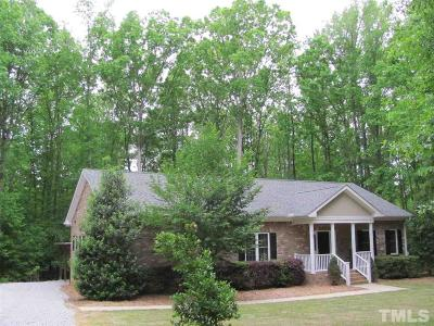 Wendell Single Family Home For Sale: 747 Mudham Road