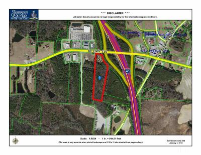 Johnston County Commercial Lots & Land For Sale: 12303 Nc 210 Highway