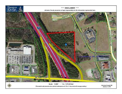 Johnston County Commercial Lots & Land For Sale: Nc 210 Highway