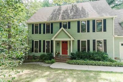 Raleigh Single Family Home Contingent: 4026 Glen Laurel Drive