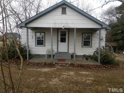 Single Family Home For Sale: 912 Wiggins Road