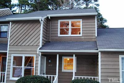 Cary Townhouse Contingent: 402 Applecross Drive