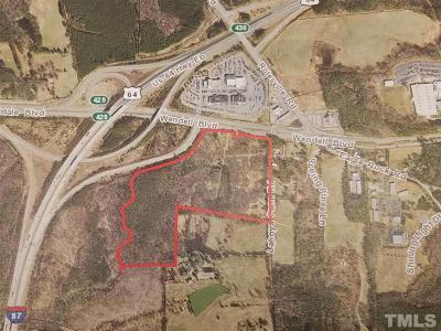 Wake County Residential Lots & Land For Sale: 300 Wendell Boulevard