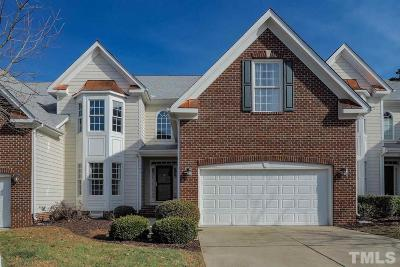 Cary Townhouse For Sale: 305 Anniston Court