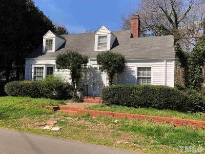 Hillsborough Single Family Home For Sale: 207 N Wake Street