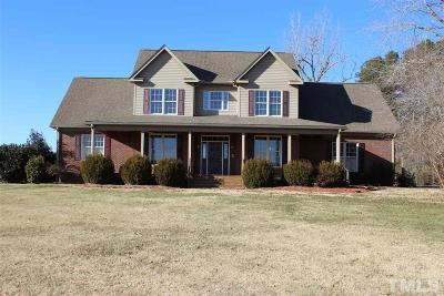 Granville County Single Family Home Pending: 6537 Alvis Brooks Road