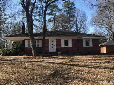 Granville County Single Family Home For Sale: 601 18th Street