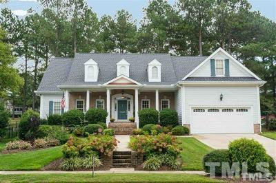Wake Forest Single Family Home For Sale: 1340 Heritage Club Avenue