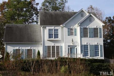 Cary Single Family Home Contingent: 102 Chatsworth Street