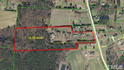 Johnston County Commercial For Sale: 102-110 Karen Drive