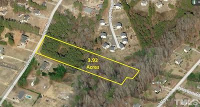 Johnston County Residential Lots & Land For Sale: 4901 Lee Drive