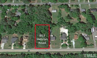 Durham County Residential Lots & Land For Sale: 803 Hebron Road