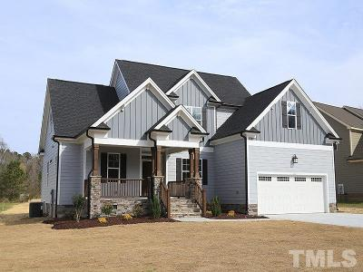 Wendell Single Family Home For Sale: 121 Prestwood Lane