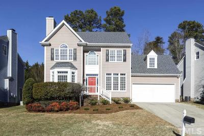 Cary Single Family Home Contingent: 104 Rose Valley Woods Drive