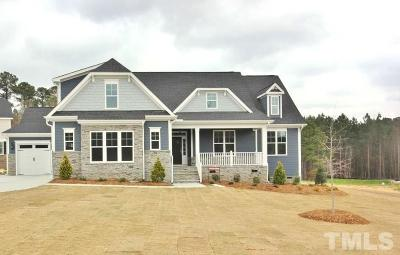Wake Forest Single Family Home For Sale: 2709 Oxford Bluff Drive