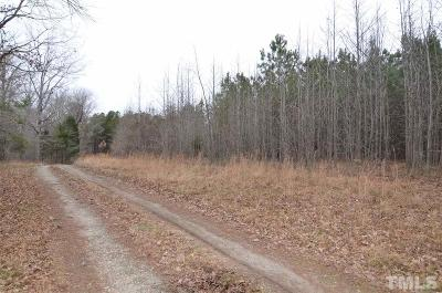Durham County Residential Lots & Land For Sale: 3350 Coley Road