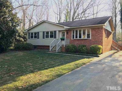 Raleigh Single Family Home Contingent: 428 Latimer Road