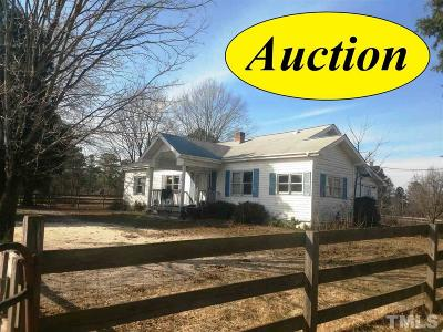 Sanford Single Family Home For Sale: 16048 W Nc 27 Highway