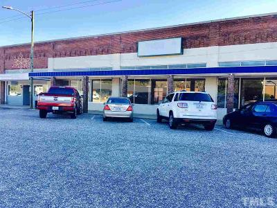 Harnett County Commercial For Sale: 105 H Street East