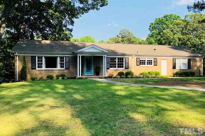 Raleigh Single Family Home Pending: 5000 North Glen Drive