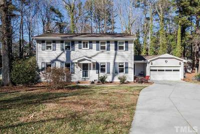 Cary Single Family Home Contingent: 1214 Scott Place