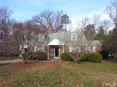 Wake County Single Family Home Pending: 2723 Anderson Drive