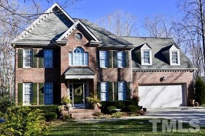Wake Forest Single Family Home Contingent: 8613 Carlton Oaks Drive