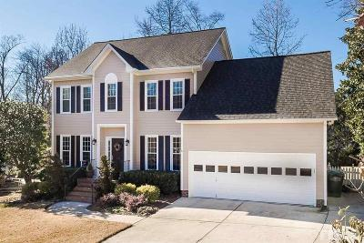 Cary Single Family Home Contingent: 102 Ferncrest Court