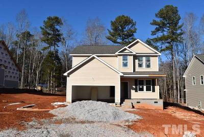Youngsville Single Family Home Pending: 110 Alcock Lane
